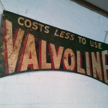 Valvoline ad found today!