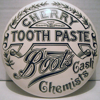 Boots Cash Chemists - Advertising