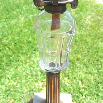 Need Help Identifying Oil Lamp External Filler Tube