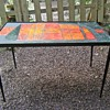 Help id Mid Century tile stacking tables Made in France for Saks 5th Ave?