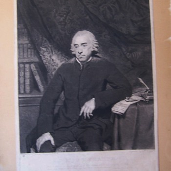 Mezzotint dated 1786 - Posters and Prints