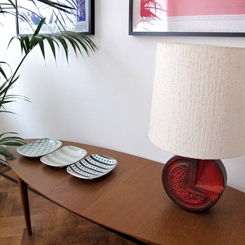Corner of our living room (Stig Lindberg, Ikea,..) - Furniture