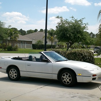 My 1992 Nissan 240 sx LE Convertible