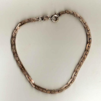 Ladies Silver Bracelet - Costume Jewelry