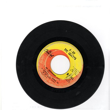 "EP "" 4 by the Beatles 45 "" Capital Label"