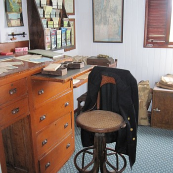 SS Ticonderoga Purser's office - Shelburne Museum
