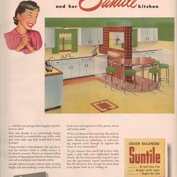 1950 Suntile Advertisements