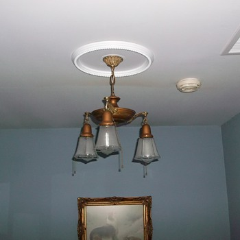 Vintage Pan Style Chandelier - Lamps