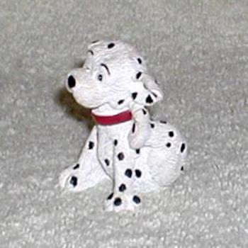 """""""Scratching Puppy"""" Dalmatian Figurine"""