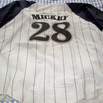 Mickey's Retired Jersey