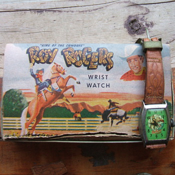 Roy Rogers Wristwatch 1954