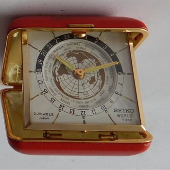 Seiko Travel Clock