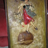 Vintage 1933 Blatz Old Heidelburg beer sign  plaster cast