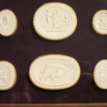 James Tassie (1735–1799), Moulds for Wedgwood - China and Dinnerware