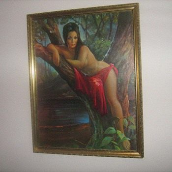 J.H. Lynch Woodland Goddess - Posters and Prints