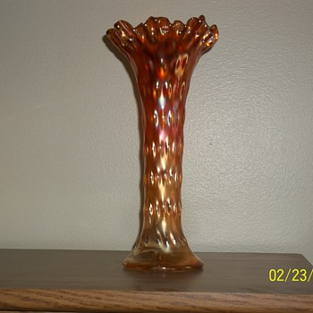 Carnival Vase? - Art Glass