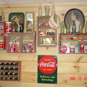 Just a little bit of my stuff! - Coca-Cola