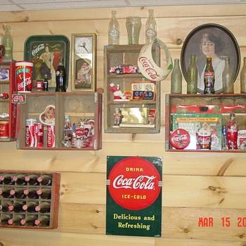 Just a little bit of my stuff! - Coca-Cola