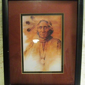 Native American portraits (for Alan, and for discussion) - Visual Art
