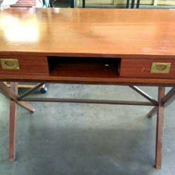 Mid century Teak Desk - Furniture