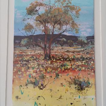 Australian Artwork Landscape  - Visual Art