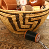 Grandmother's Indian Sewing Basket