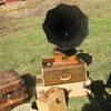 Gatsby Summer Afternoon  Victrola gramophone that survived 1906 earthquake