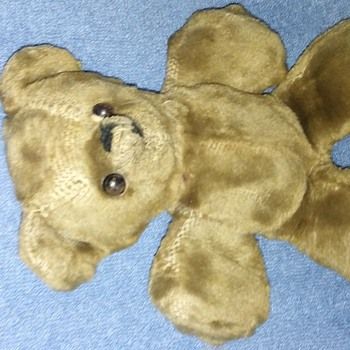 Antique loved and lived Teddy Bear needs Identification