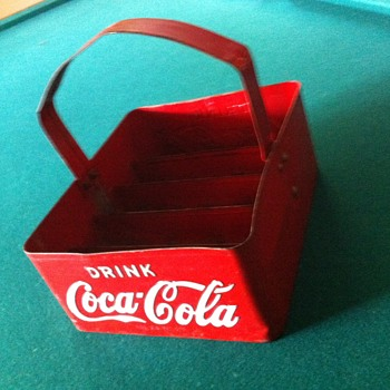 1950's Coca Cola Stadium Carrier