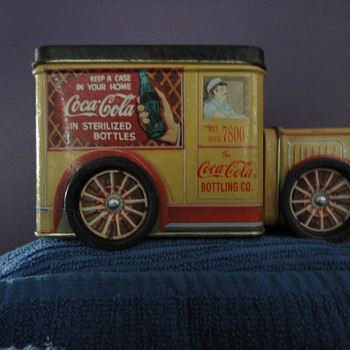 1994 Coca Cola Tin Truck