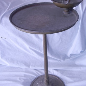 Antique Cigar Ashtray Stand