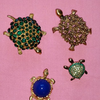 Turtles - Costume Jewelry