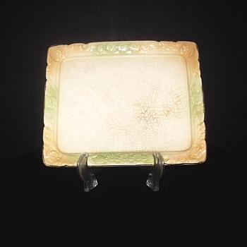 "Mystery Plate""Underheath mark?"""