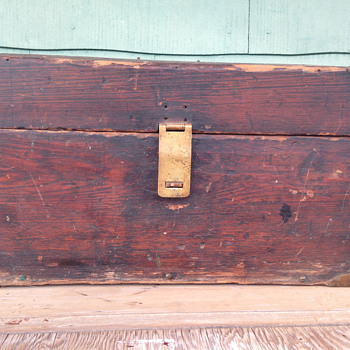 Vintage handmade Tool Chest / Box?