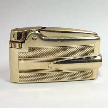 Vintage Ronson 14k gold SHEATH Lighter