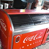 victor coca cola cooler bar, original paint!