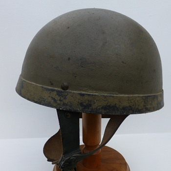 Helmet, Steel, Airbourne Troops - Military and Wartime