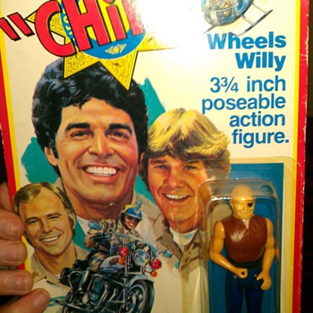 1977METRO-GOLDWYN-MAYER FILM CO MEGO CORP CHiPs Wheels Willy (3 & 3/4 inch poseable action figure)  manufactured by MEGO CORP.  - Toys