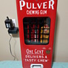 Pulver Short Case Red Machine 1930's