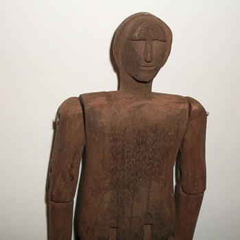 Folk Art Carved Articulated Figure Limberjack Collection Jim Linderman