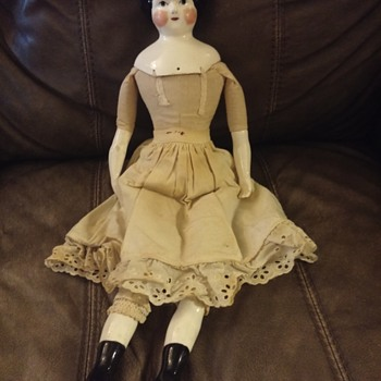 1860's china doll or reproduction?