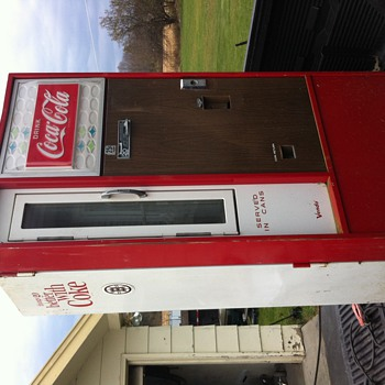 1960's coca cola vending machine  - Coca-Cola