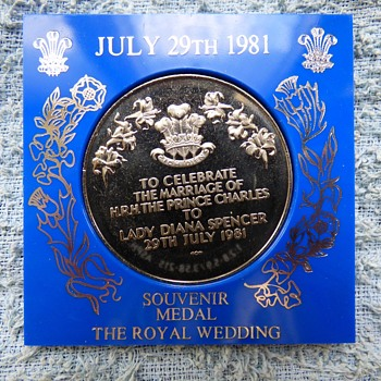 1981-royal wedding-Charles/Diana-uk coins. - World Coins