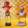 Vintage Folk Figurines