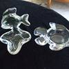 "A Couple of Crystal VANNES-LE-CHATEL ""Fishies"" Trays"