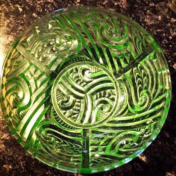 Maori Bowl - Glassware