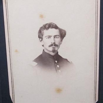 Lt. LP Adley, 2nd New Hampshire, later 22nd USCT regiment. - Photographs