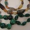 Malachite Stone Plastic Jewellery