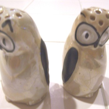 luster owl salt and pepper #3