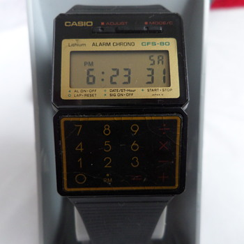 Casio CFS-80 - Wristwatches